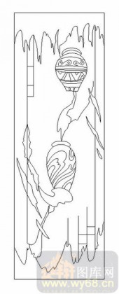 09现代装饰-陶罐-00057-玻璃雕刻