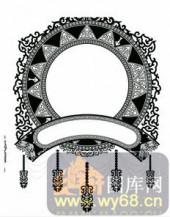 欧式镂空装饰001-艺术太阳-欧式镂空装饰001-030-隔断墙效果图
