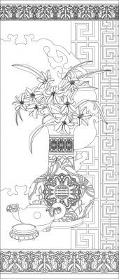 竖板60,花瓶