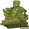 财神-3D雕刻图库