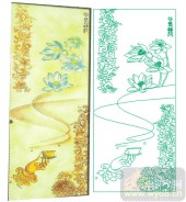 2011设计艺术玻璃刻绘-碧海-艺术玻璃