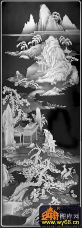 八仙006-仙境-01-八仙灰度图