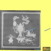 桌子001-古韵-003-桌子浮雕灰度图