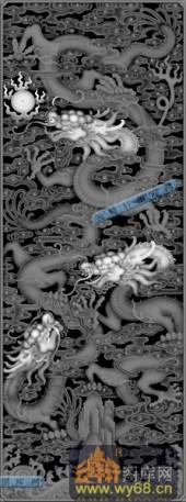 02-蟠龙-008-雕刻灰度图