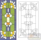 06欧式装饰系列样图-花纹-00013-艺术玻璃图库