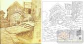 05肌理雕刻系列样图-村屋-00153-雕刻玻璃图案