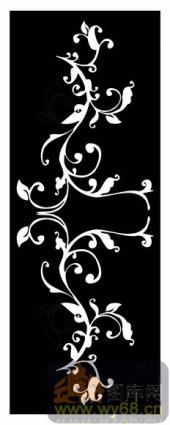镂空装饰组合式-白色花藤-镂空装饰组合式-041-镂空雕刻