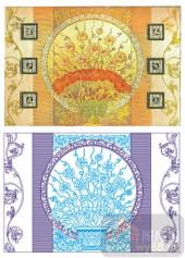 2011设计艺术玻璃刻绘-盛世贵族-雕刻玻璃图案