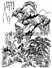 09年3月1日第一版画山水-矢量图-山峙渊�s-11-路径矢量图