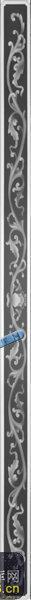 宝座综合-古典花纹-006-宝座灰度图案