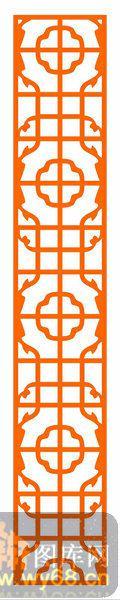 镂空装饰组合式-典雅花纹-镂空装饰组合式-038-木雕花镂空隔断