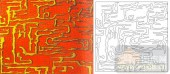 04肌理雕刻系列样图-迷宫-00228-艺术玻璃