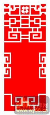 中式镂空装饰001-传统花纹-中式镂空装饰001-004-雕花板