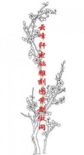 梅兰竹菊-矢量图-梅花-mlxj164-路径梅兰竹菊图片