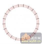 122种圆形边框矢量-破矩为圆-120种圆形边框矢量-022-玄关柜