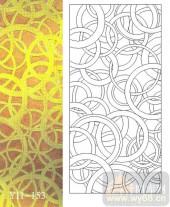 玻璃门-肌理雕刻系列1-黄金环-00153