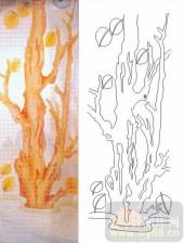 05肌理雕刻系列样图-树根-00075-雕刻玻璃图案