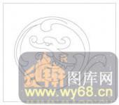 镂空装饰单式002-龙形花纹-镂空装饰单式002-054-隔断墙效果图