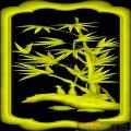 竹子竹笋-精雕雕刻图