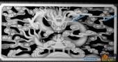 01-蟠龙-066-龙凤灰度图案