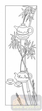 02古文化系列-胸有成竹-00081-玻璃门