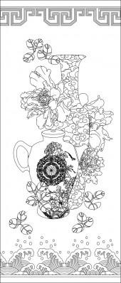 竖板30,花瓶