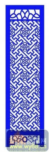 屏风001-流行花纹-屏风1-011-密度板镂空隔断欧式花型