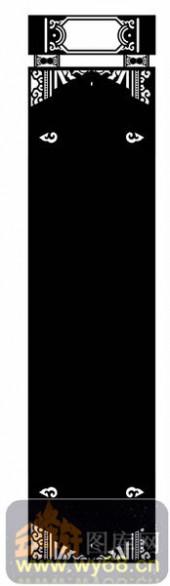 欧式镂空装饰001-古典-欧式镂空装饰001-026-隔断墙效果图