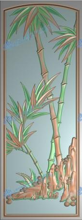 靠背板竹子