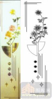 07精雕冰凌系列样图-菊花-00009-玻璃雕刻