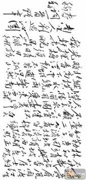 毛泽东手书古诗词-矢量图-40泌园春-毛泽东手书古诗词雕刻图案