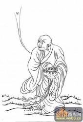 18罗汉3-矢量图-罗汉2-中国传统罗汉图