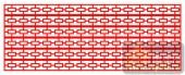 镂空装饰单式001-长方块花纹-镂空装饰单式001-029-木雕花镂空隔断