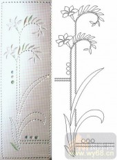 晶纹系列-直杆花-00016