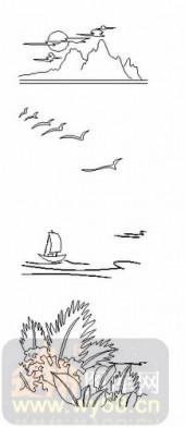 玻璃门-08四扇门(4)-孤帆-00105