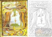 04肌理雕刻系列样图-亲吻-00196-雕刻玻璃