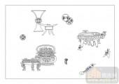 02古文化系列-鼎玉龟符-00017-艺术玻璃