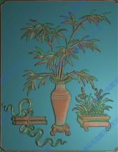 竹花(四季图)