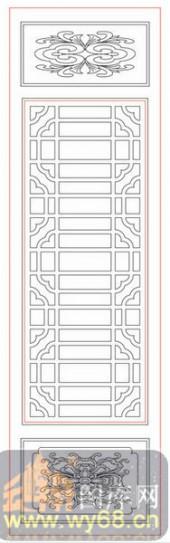 镂空装饰单式002-美丽花纹-镂空装饰单式002-060-隔断