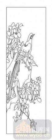 04花草禽鸟-花鸟图-00039-玻璃雕刻