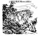 虎第五版-矢量图-畏之如虎-33-虎全图