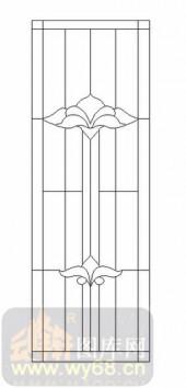 艺术玻璃图-12镶嵌-几何花纹-00021