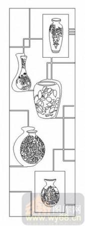 02古文化系列-陶�F鼓铸-00006-喷砂玻璃图库