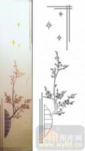 07精雕冰凌系列样图-梅花-00008-玻璃雕刻