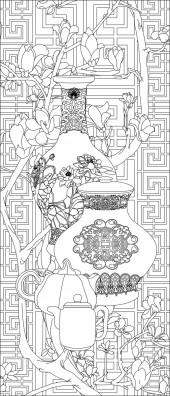 竖板62,花瓶