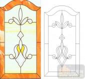 06欧式装饰系列样图-传统花纹-00003-玻璃门