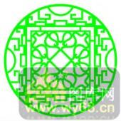 镂空装饰单式001-绿色花纹-镂空装饰单式001-043-吧台
