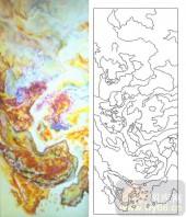 05肌理雕刻系列样图-抽象图案-00160-艺术玻璃图库