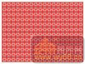 镂空装饰单式001-几何花纹-镂空装饰单式001-027-木雕花镂空隔断