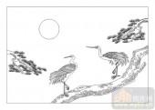 01传统系列-庞眉鹤发-00030-玻璃门